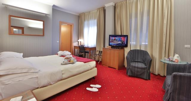 Book your stay at the Best Western Hotel Major in Milano and discover our Superior rooms with Jacuzzi